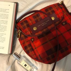 Marc Jacobs Red Crossbody Bag